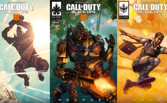 cómics de call of duty black ops 4