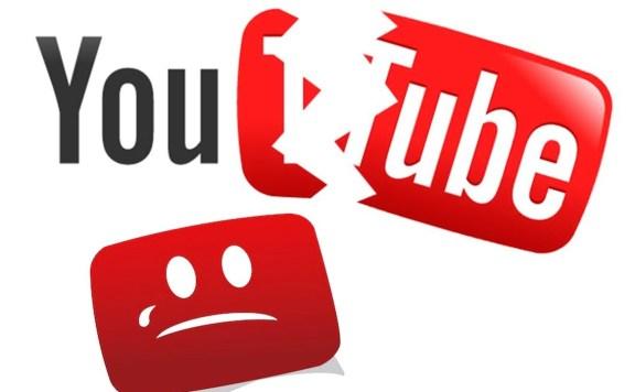 caida de youtube