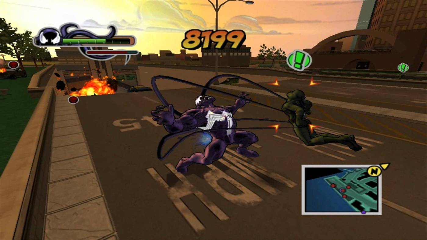 venom en videojuegos ultimate spiderman