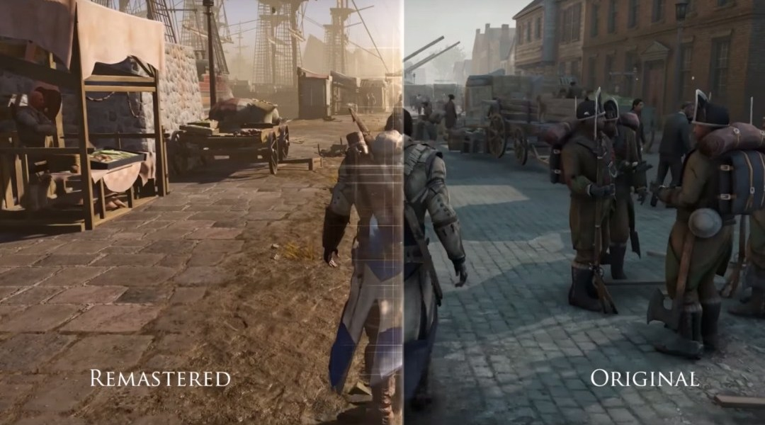 assassin's creed iii original vs remaster