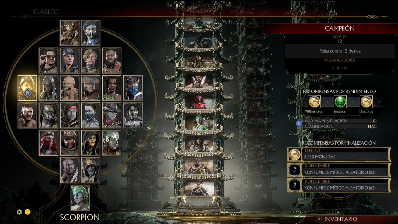 mortal kombat 11 torre