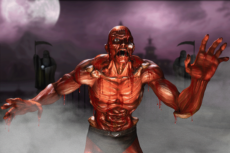 Meat Mortal kombat