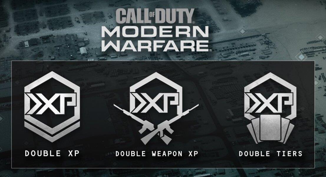 Cod Warzone doble XP