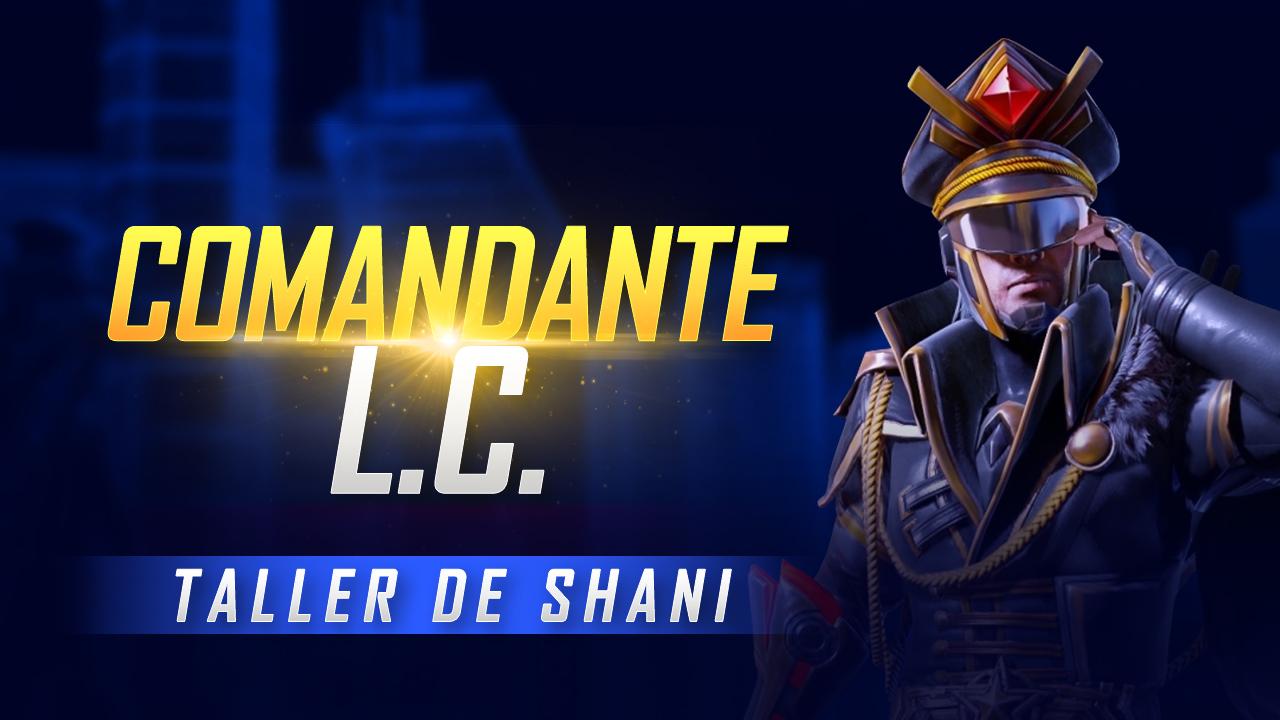 comandante L.C. free fire