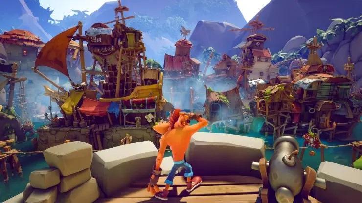 Crash Bandicoot 4 - Gráficos