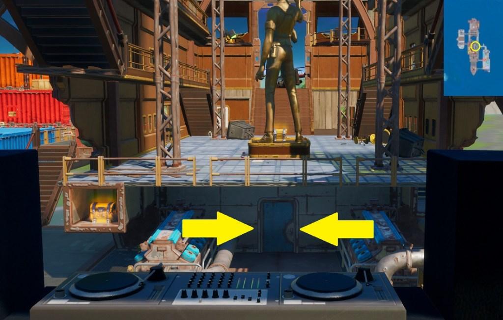 Fortnite - Encuentra los Flotadores - Flotador 5