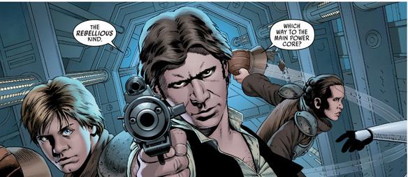 Star Wars 1 vignetta