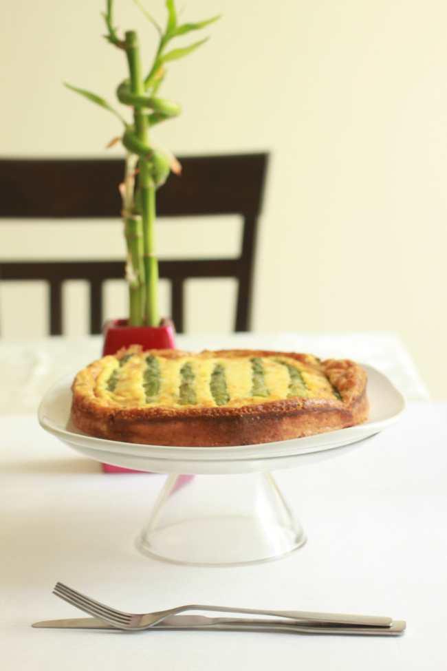 Asparagus and Shrimp Quiche 4