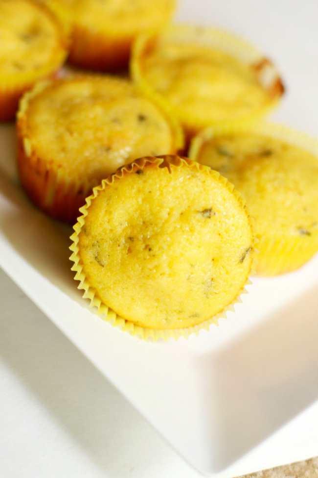 Lemon Mint Cupcakes 4