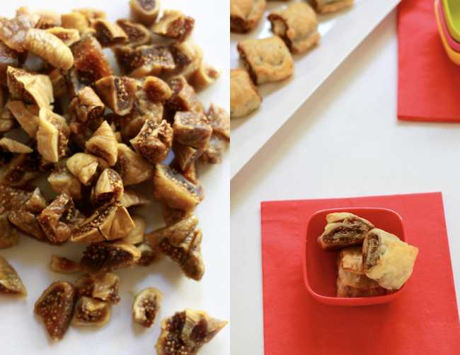 Dry Figs and Pecan Puff Rolls 1