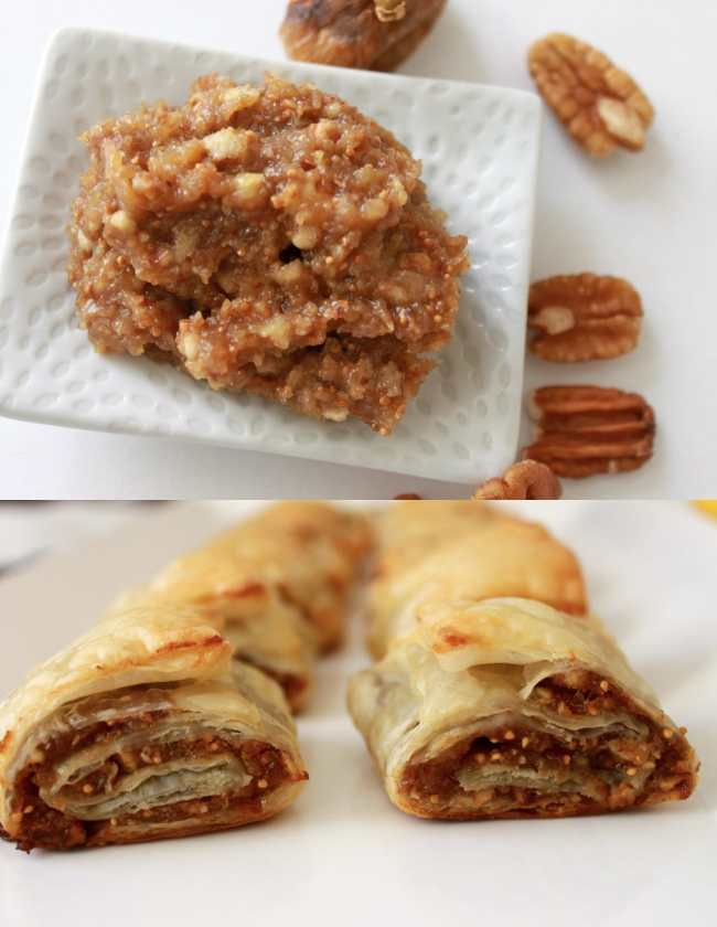 Dry Figs and Pecan Puff Rolls 3