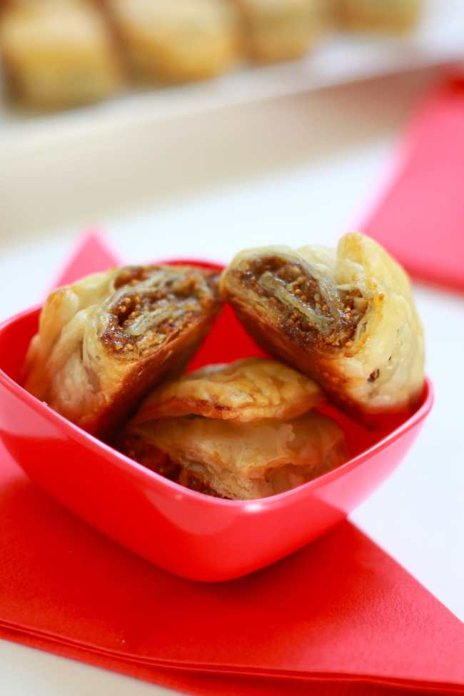 Dry Figs and Pecan Puff Rolls 4