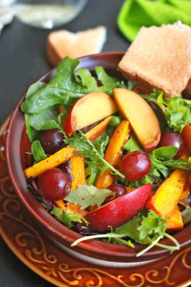 Colorful Seasonal Salad 4