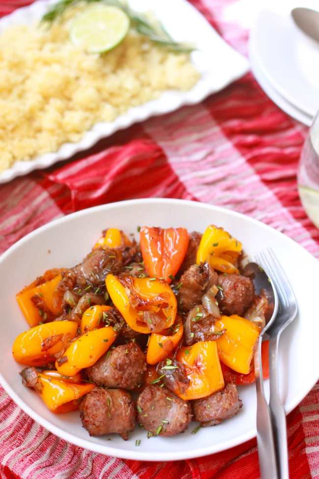 Couscous with Italian Sausage 1
