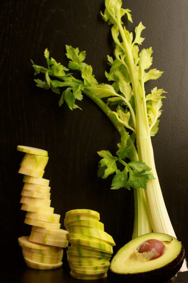 Zucchini & Avocado Cold Soup with Crispy Sticks 5