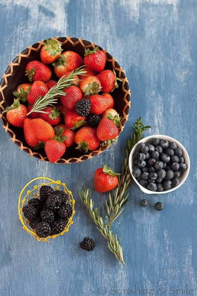 Mixed Berry Jam 1