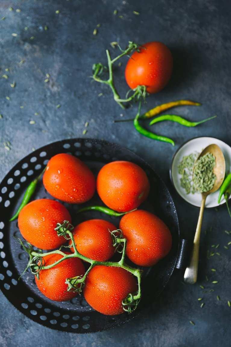 Tomato photography - Kankana Saxena