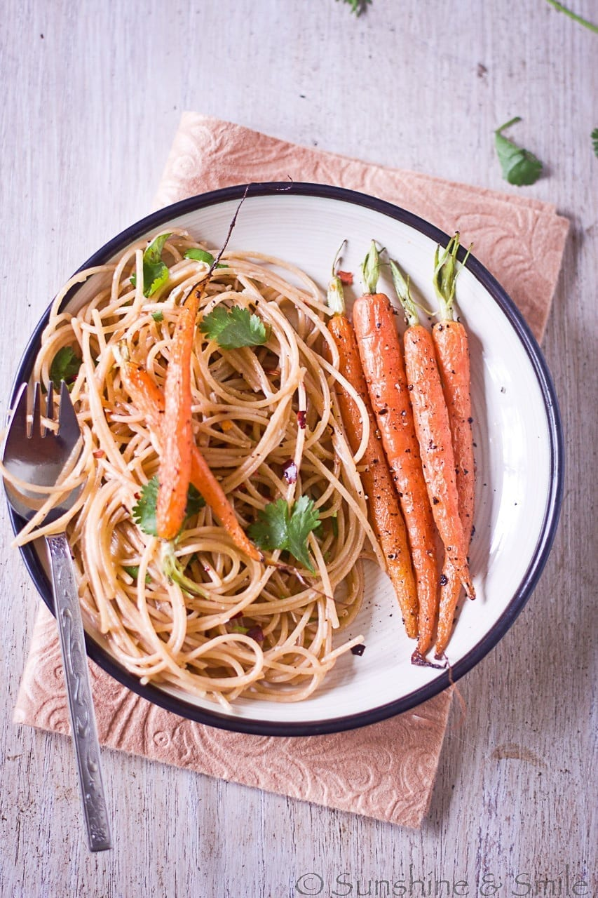 Day out in the city and Roasted Carrots with Garlic Spaghetti 13