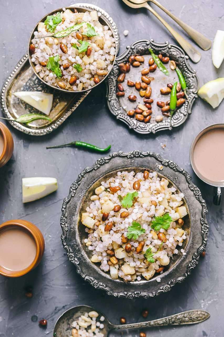 Sabudana Khichdi | Playful Cooking #glutenfree #tapiocapearl #pilaf #foodphotography #navratri #indianfood