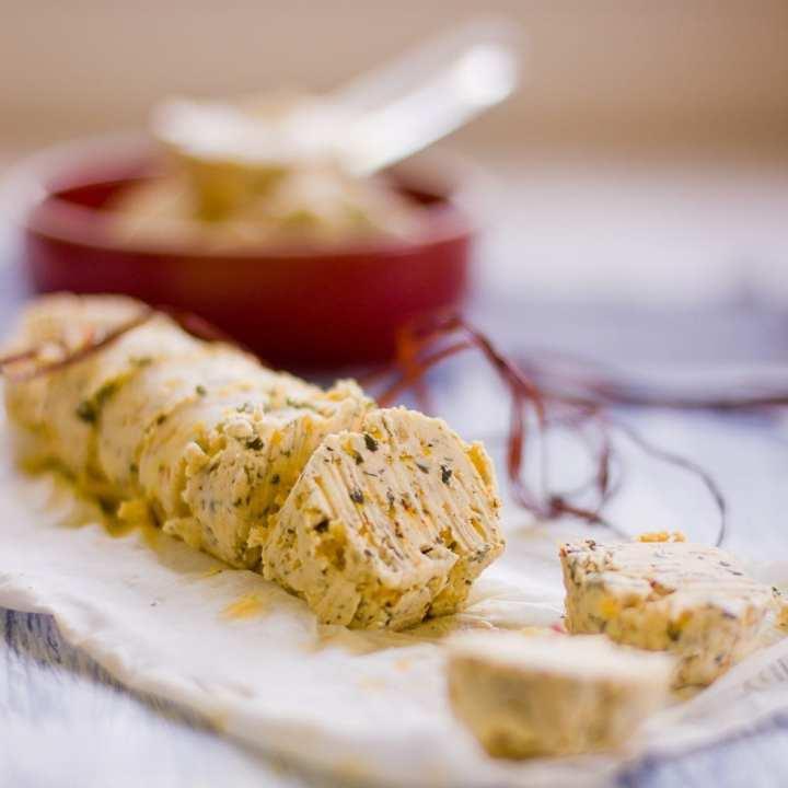 saffron compound butter 3