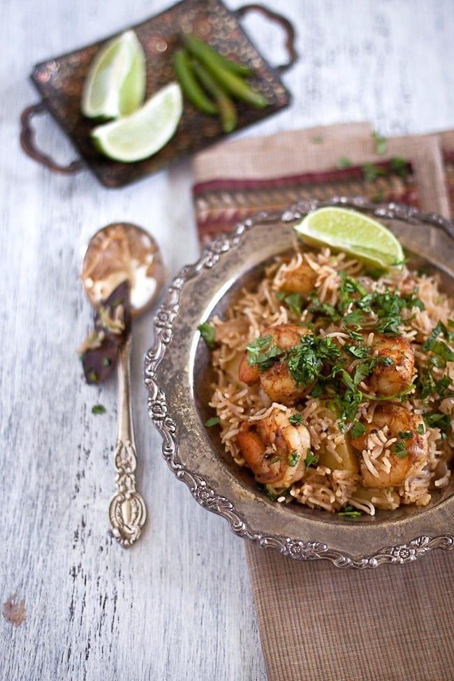 Shrimp Pulav - Guest Post at Healthful Pursuit 2