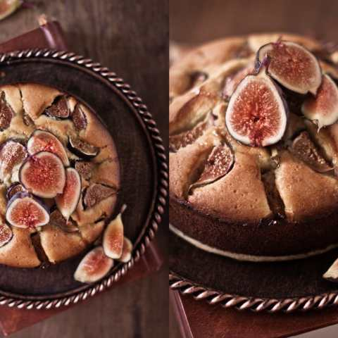 honeyed fig cake 6