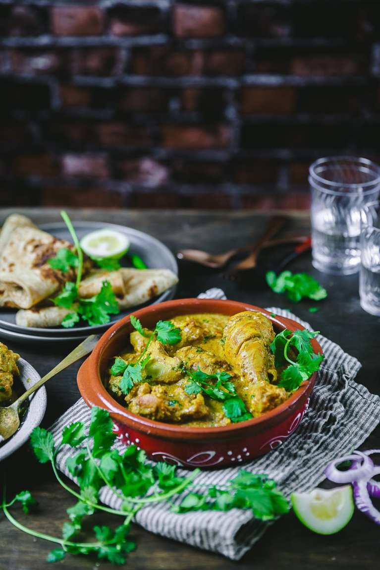 Food photography of Indian Curry #chicken #murgh #indian #curries