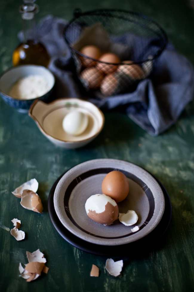 Hard Boiled Eggs for Coconut Egg Curry | Playful Cooking
