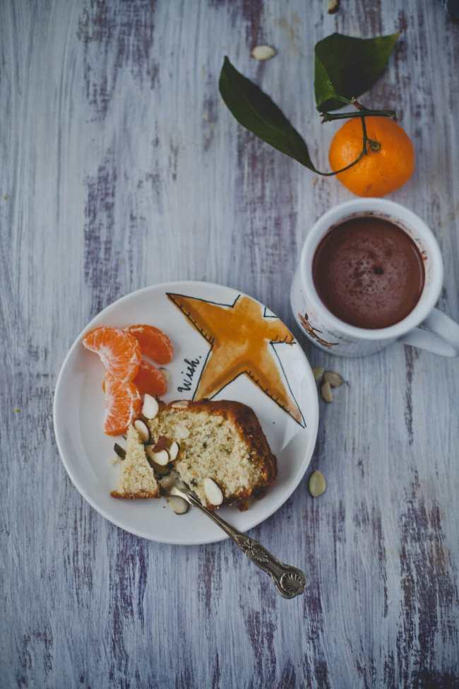 Orange Mint Almond Cake | Playful Cooking