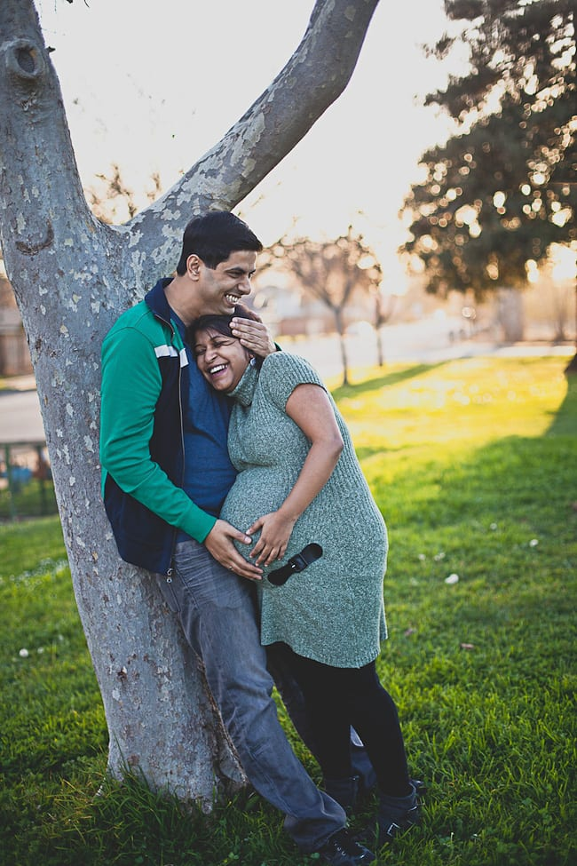 Maternity Shoot | Playful Cooking