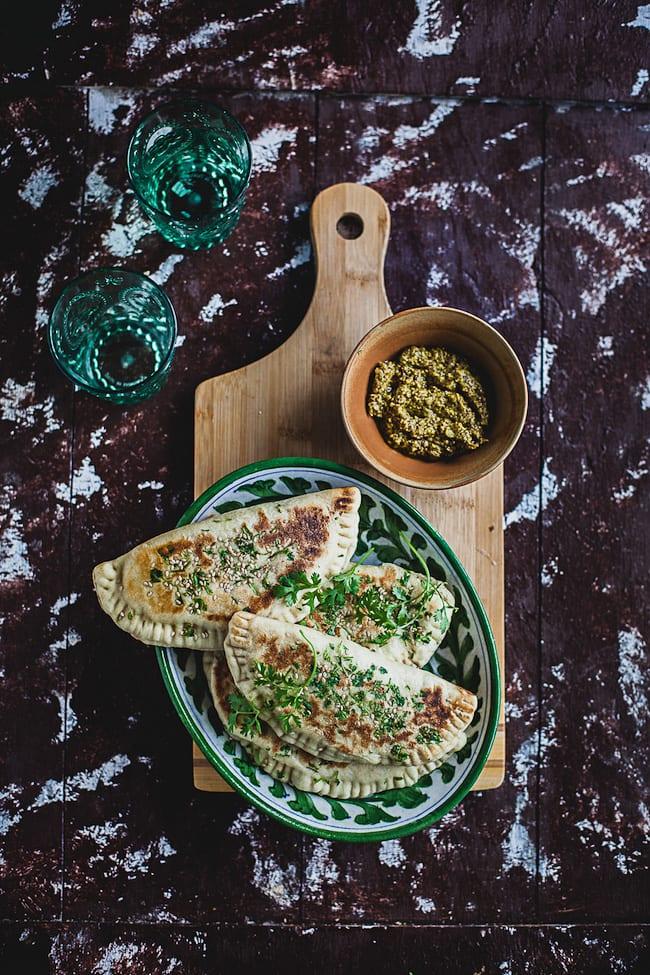 Kashundi Paneer Naan Calzone | Playful Cooking