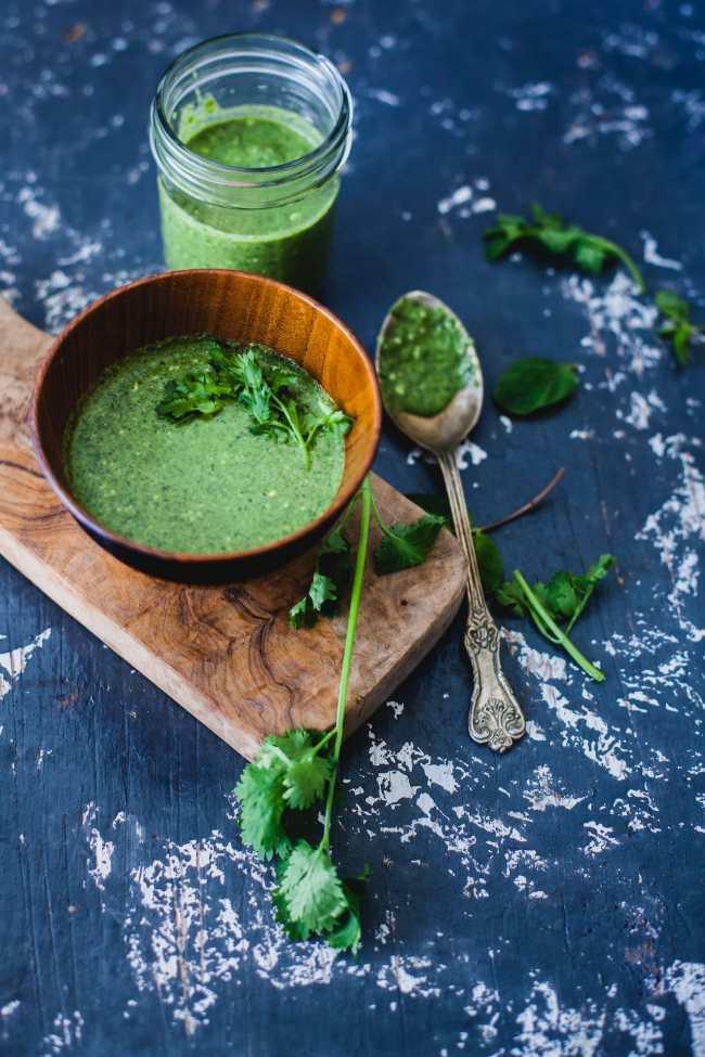 Coriander Chutney And Tamarind Chutney | Playful Cooking