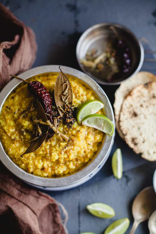Bhaja Mung Daal Khichuri | Playful Cooking