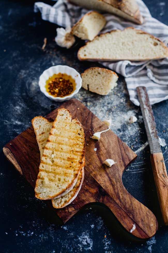 Rustic White Bread 06