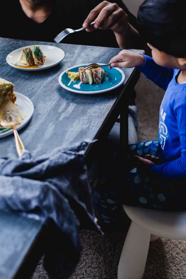 Lemon Cake With Basil Mascarpone Frosting | Playful Cooking