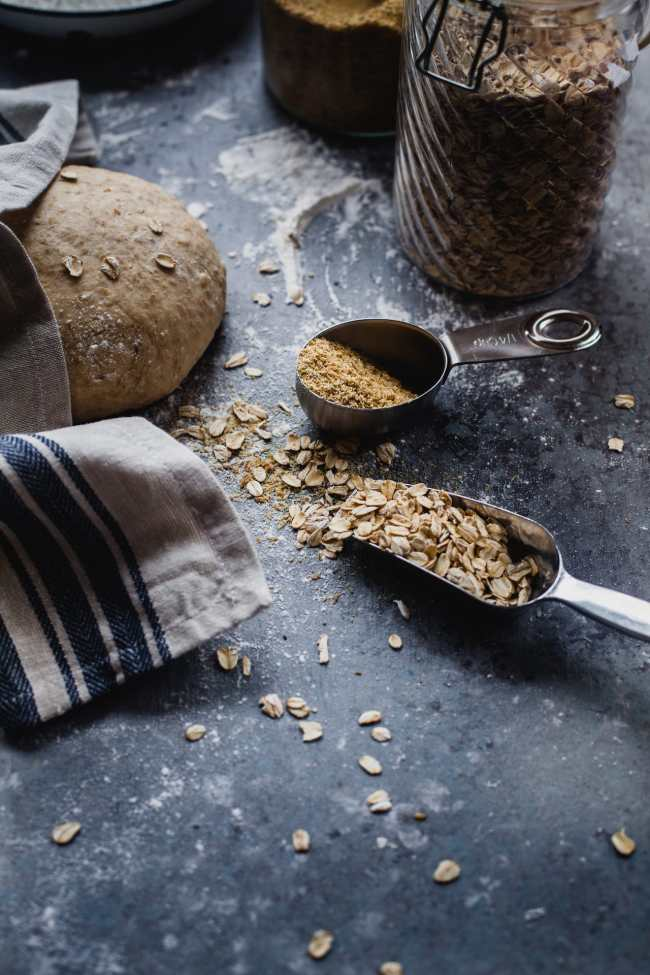 Flax And Oats Wheat Bread | Playful Cooking