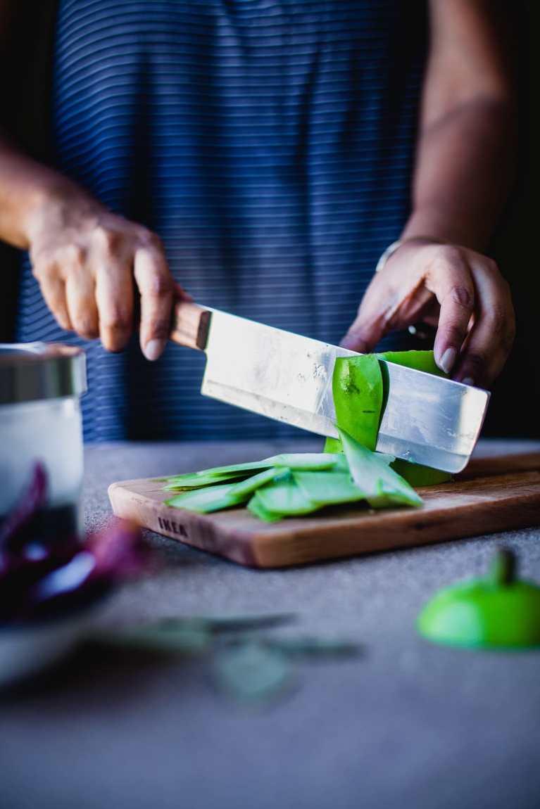 Lau Khosha Bhaja (Bottle Gourd Peel Stir Fry) | Playful Cooking