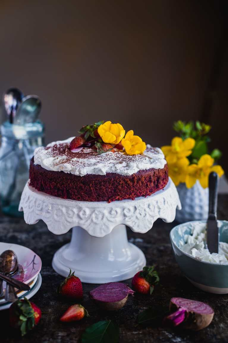 Beetroot Cocoa Cake | Playful Cooking