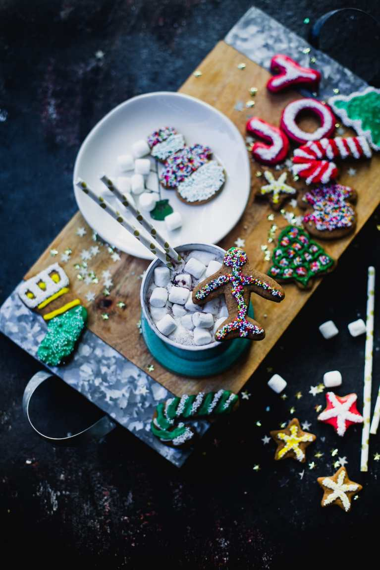 Soft Gingerbread Cookies | Playful Cooking