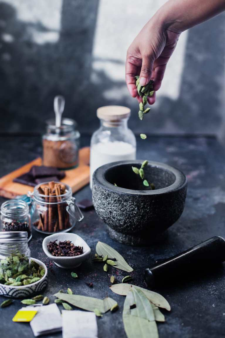Chai Spiced Hot Chocolate 1