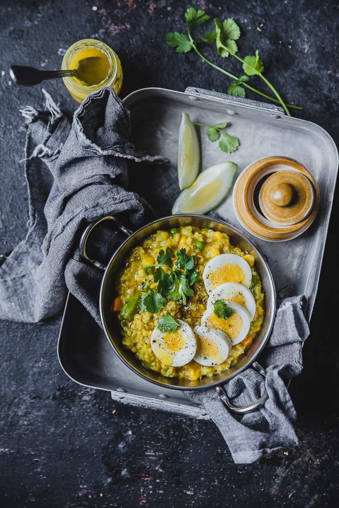 Mixed Vegetable Savory Oatmeal   Playful Cooking