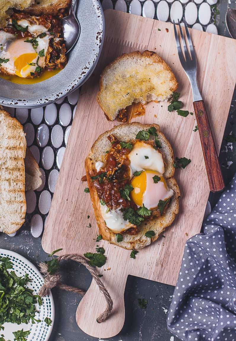 Indian Spiced Spinach Shakshuka | Playful Cooking
