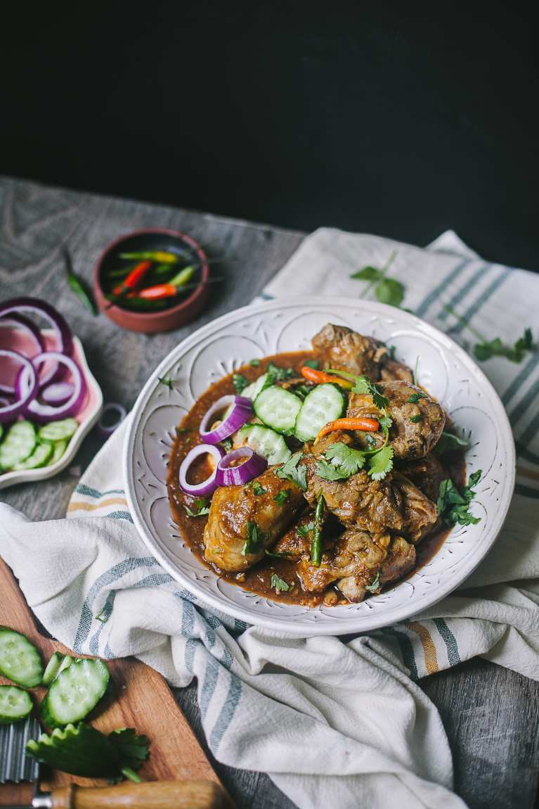 Caramelized Onion Chicken Curry | Playful Cooking #foodphotography #chicken #curry #recipe
