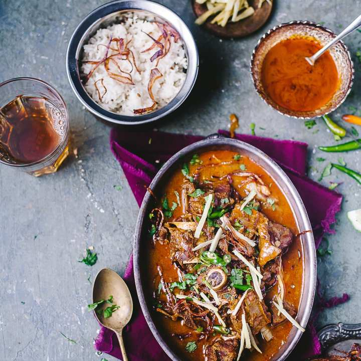 Mutton Nihari (Spiced Goat Stew) | Playful Cooking #indianfood #foodphotography #mutton #curry #meat