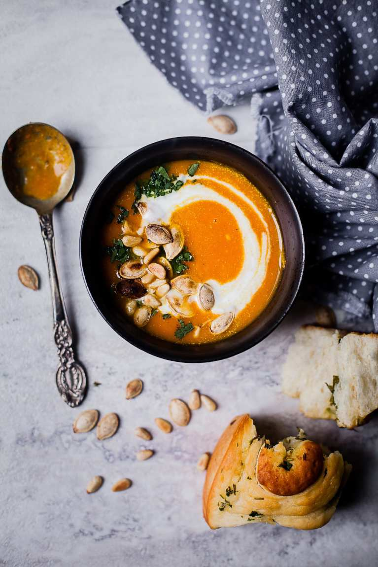 5 Ingredients carrot ginger soup | Playful Cooking #soup #carrot #ginger #5ingredients #winterfood