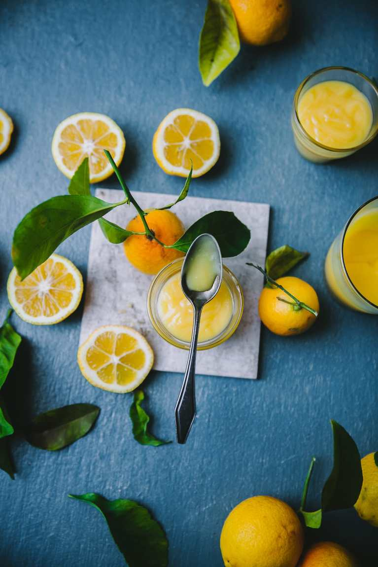 Beautiful Flatlay food photography | Playful Cooking #lemon #curd #foodphotography