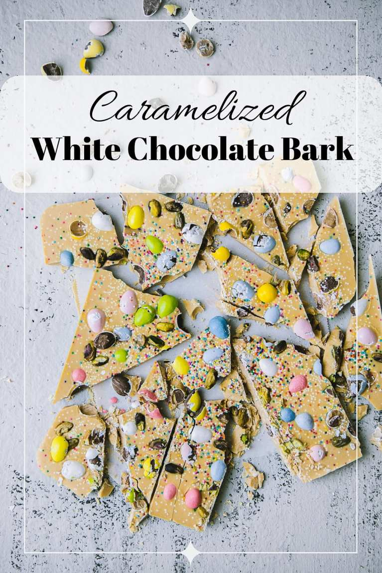 Caramelized White Chocolate Bark 4