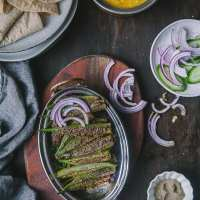 Bharwa Masala Bhindi (Spice Stuffed Okra) | Playful Cooking #okra #bhindi #playfulcooking #foodphtography