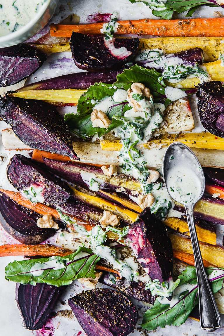 Roasted Beetroot Carrot