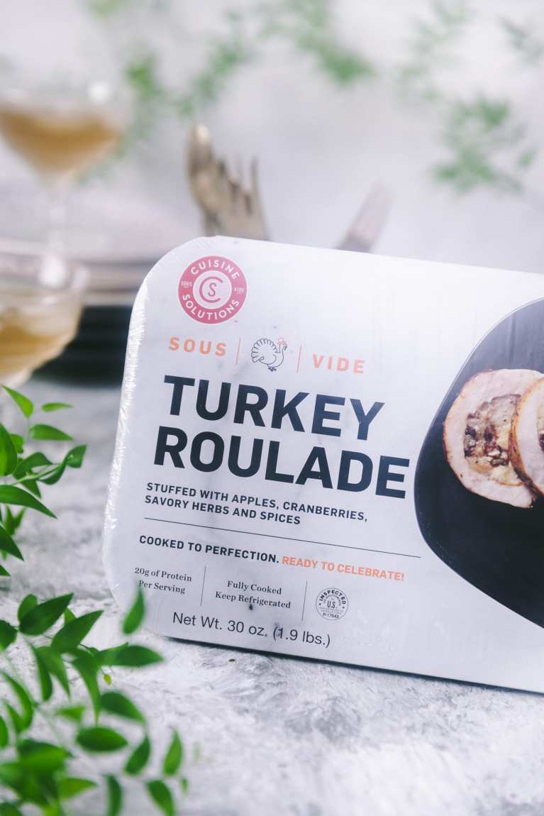 Turkey Roulade | #cusinesolutions #holidaymeal #parties #turkey #thanksgiving